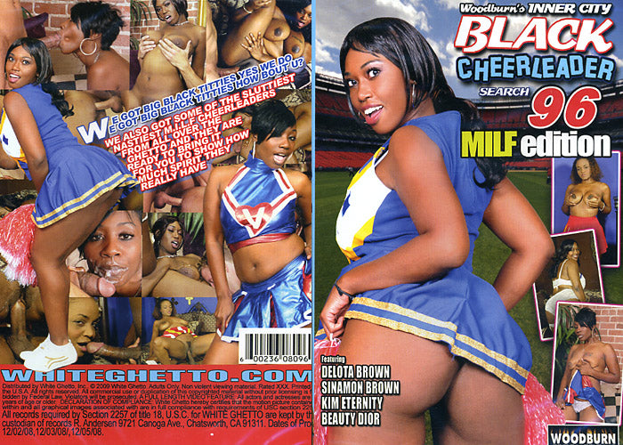Black Cheerleader Search #96 Milf Edition - Woodburn Sealed DVD
