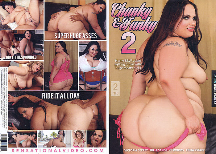 Chunky & Funky #2 - Sensational Sealed BBW DVD