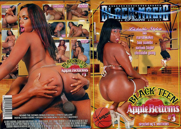Black Teen Apple Bottoms #3 - Black Magic Sealed Adult DVD
