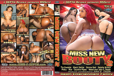 Miss New Booty 2 - Depth Ent - Interracial - Sealed DVD