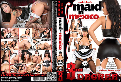 Maid In Mexico 3rd Degree - Sealed DVD