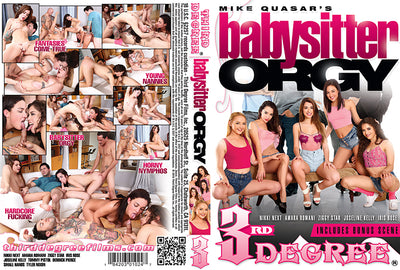 *Babysitter Orgy 1 3rd degree Sealed DVD