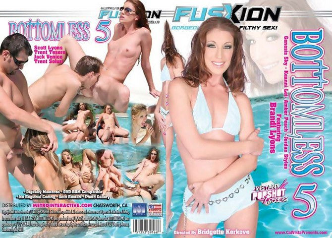 Bottomless #5 - Fusxion Sealed DVD