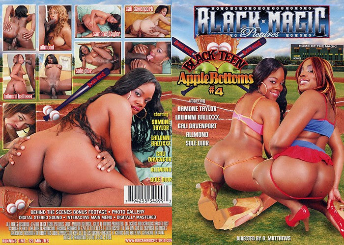 Black Teen Apple Bottoms #4 - Black Magic Sealed Adult DVD