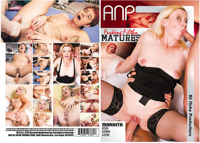 Fucking Filthy Matures #1 - ANP Sealed DVD