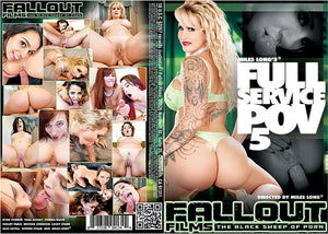 Full Service POV #5 - Fallout Adult XXX Sealed DVD