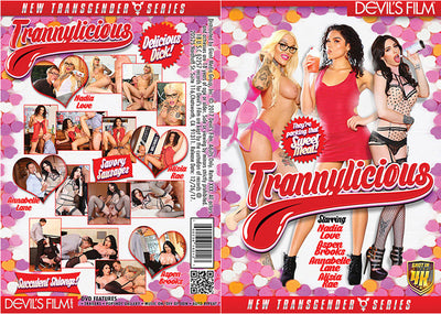 Trannylicious #1 - Devils Film Sealed Trans DVD