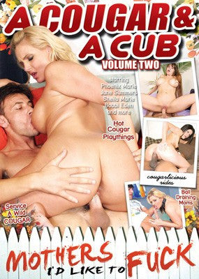 A Cougar & A Cub #2 - Mothers ID Like to Fuck DVD