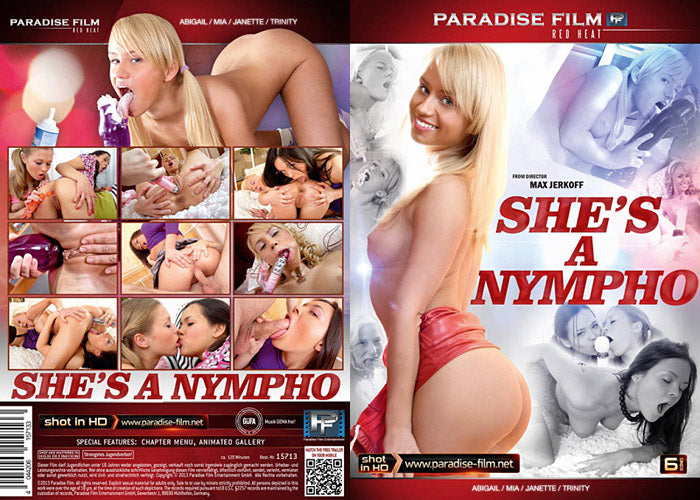 Shes A Nympho - Paradise - Sealed DVD