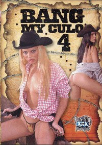Bang My Culo #4 Legend DVD In Sleeve