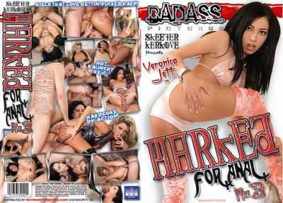 Marked for Anal #3 - Bad Ass Sealed DVD