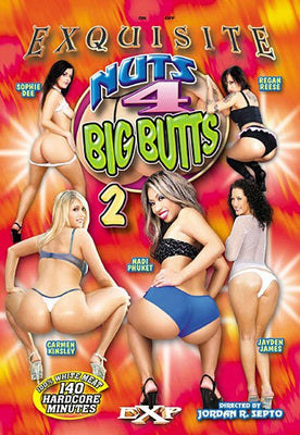 Nuts 4 Big Butts #2 - Sealed DVD