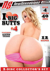 I Love Big Butts #4 - 5 Hours New Sensations 2 Sealed DVD Set