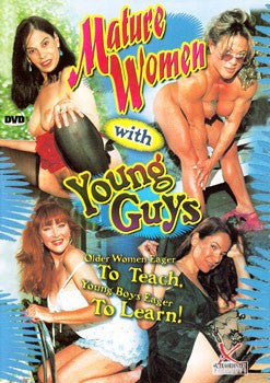 Mature Women with Young Guys Legend DVD in White Sleeve