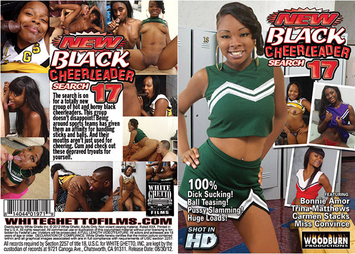New Black Cheerleader Search #17 - Woodburn Sealed DVD
