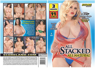 All Stacked All Natural #1 - Score Sealed DVD
