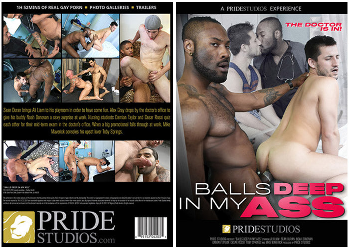 Balls Deep in My Ass #1 - Pride Gay Sealed DVD