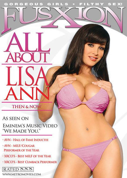 All About Lisa Ann - Fusxion DVD