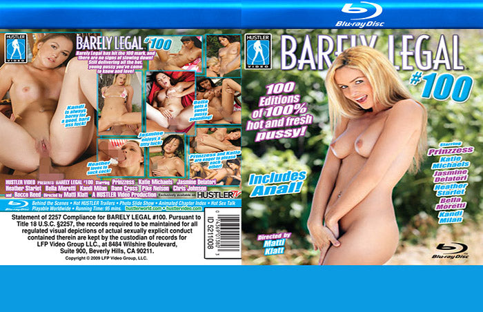 Barely Legal #100 - Sealed Blu Ray