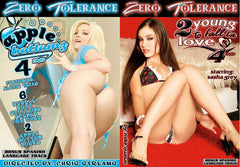 10 Different Zero Tolerance New Sealed DVDs High Quality