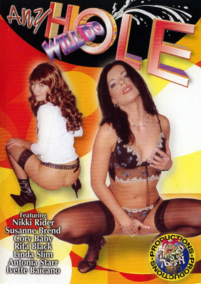 Any Hole Will Do (group sex) Legend DVD in White Sleeve