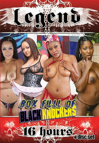 Box Full of Black Knockers 16 Hour 4 Adult XXX New Sealed DVD Box Set