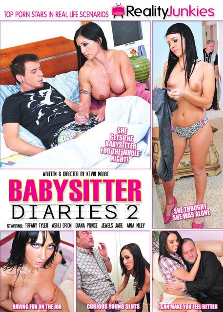 Baby Sitter Diaries #2 Reality Junkies Sealed DVD  (models over 18)