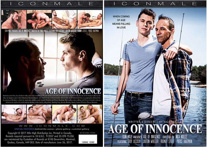 Age of Innocence #1 - Icon Male Gay Sealed DVD