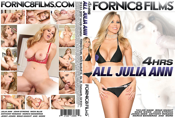 All Julia Ann Fornic8 Films 4 Hour Sealed DVD