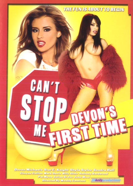 Cant Stop Me Devons First Time - Jilly Kelly Sealed DVD