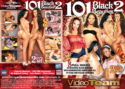 101 Black Beauties #2 - 8 Hours 2 Sealed DVD Set