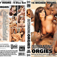 Outstanding Orgies - 16 Hour Wicked 4 Sealed DVDs