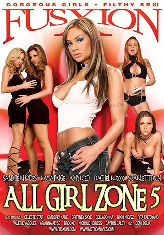 All Girl Zone #5 - Lesbian - Amy Reid Sealed DVD