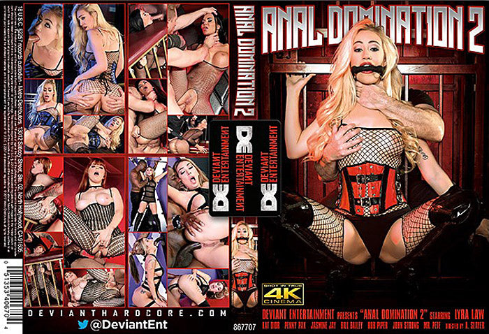 Anal Domination #2 - Deviant Sealed 4k DVD