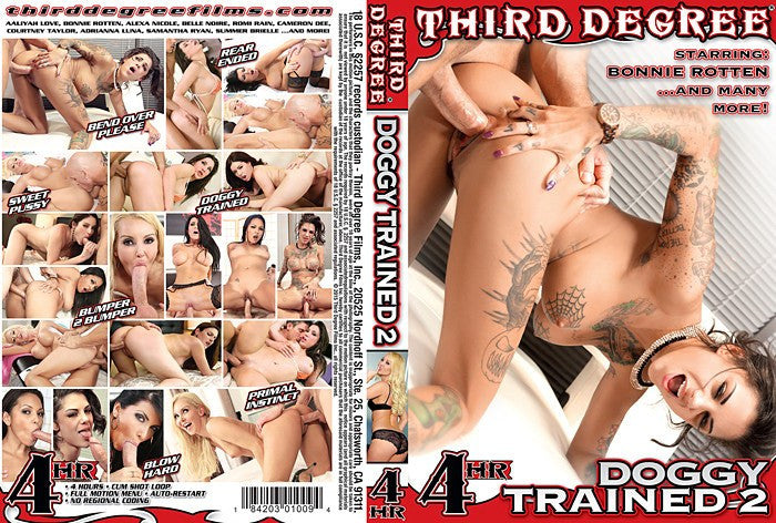 Doggy Trained (bonnie rotton) 4 Hour 3rd degree Sealed DVD