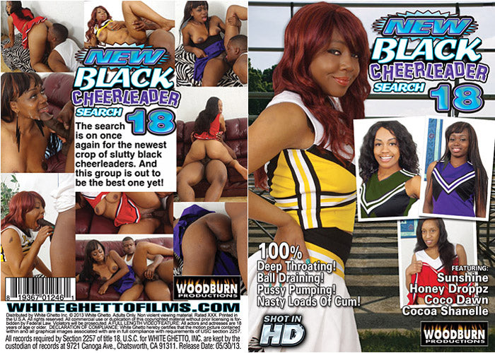New Black Cheerleader Search #18 - Woodburn Sealed DVD