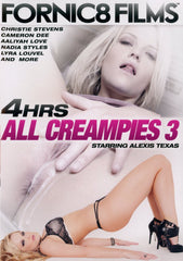 All Creampies #3 Fornic8 Films 4 Hour Sealed DVD