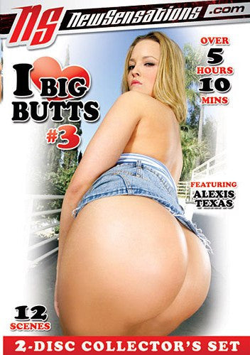 I Love Big Butts #3 - 5 Hours New Sensations 2 Sealed DVD Set