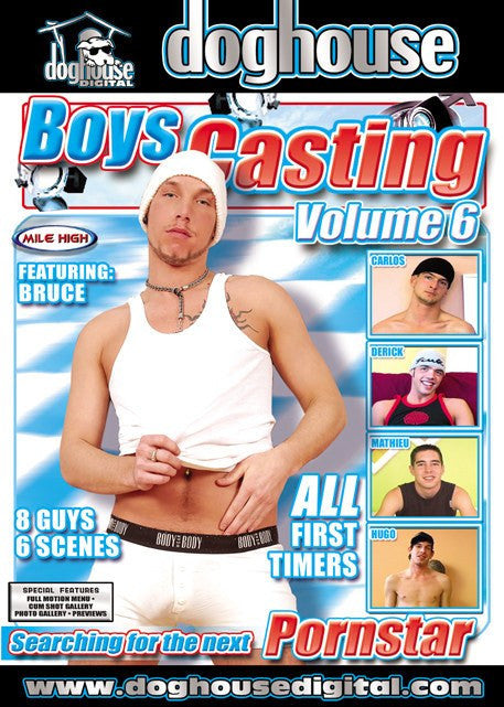 Boys Casting Couch #6 (gay) Dog House DVD