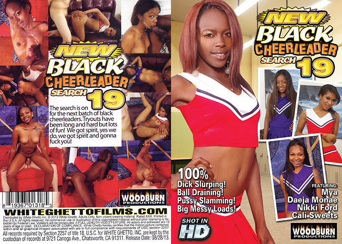 New Black Cheerleader Search #19 - Woodburn Sealed DVD
