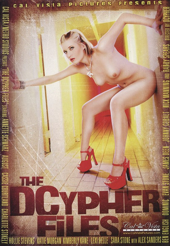 The Dcypher Files Cal Vista Adult Adult XXX DVD