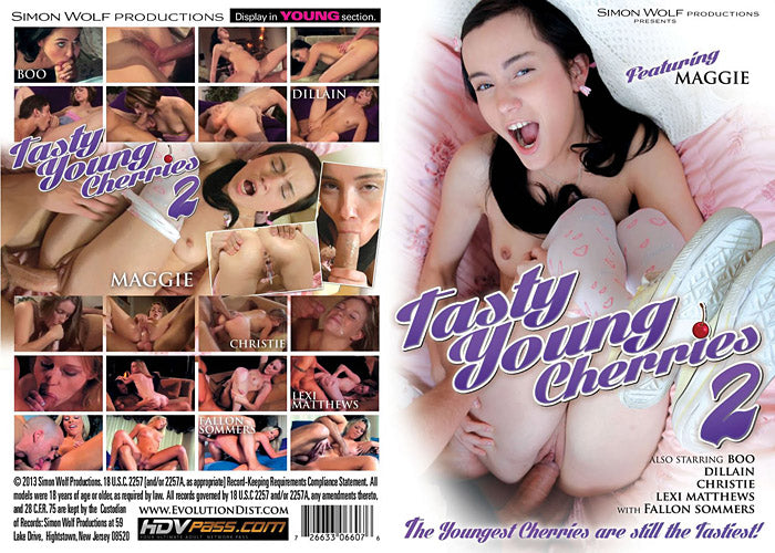 Tasty Young Cherries #2 - Simon Wolf Sealed DVD