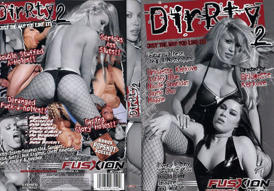 Dirty #2 - Fusxion Sealed DVD
