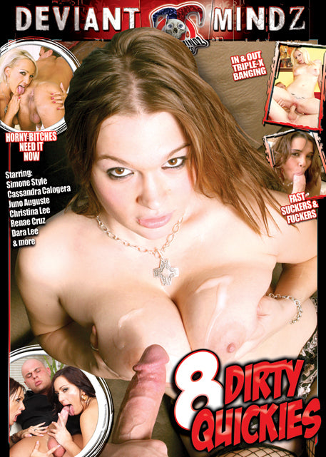 8 Dirty Quickies #1 - Mile High DVD