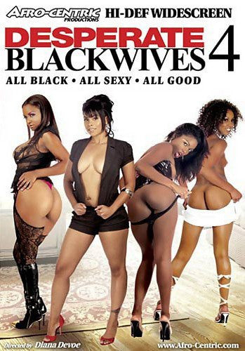 Desperate Blackwives #4 Video Team DVD