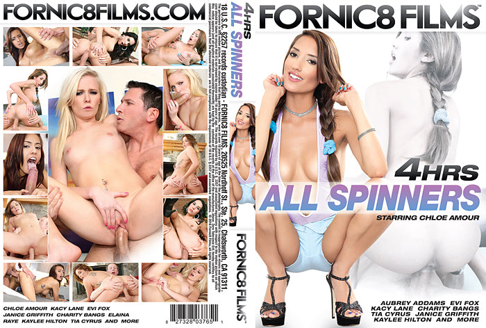 All Spinners #1 Fornic8 Films 4 Hour Sealed DVD