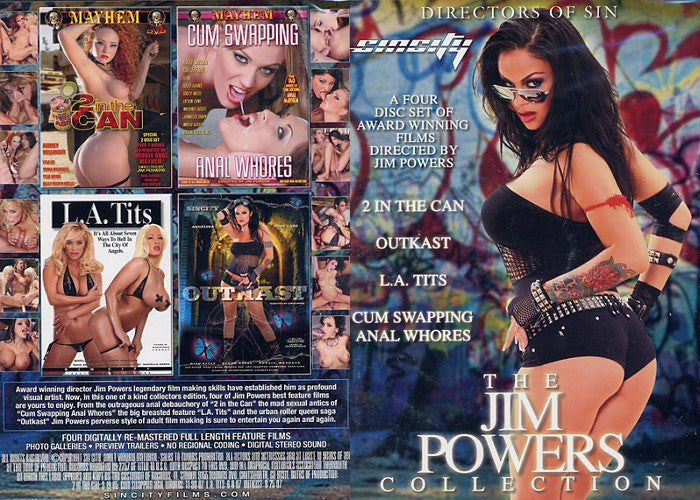 The Jim Powers Collection (4 Movies) - Mayhem 4 Sealed DVD Set