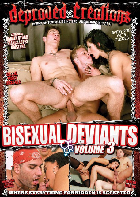 Bisexual Deviants #3  Depraved Creations DVD