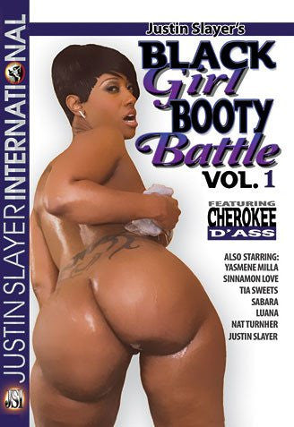 Black Girl Booty Battle #1 - Justin Slayer Sealed DVD