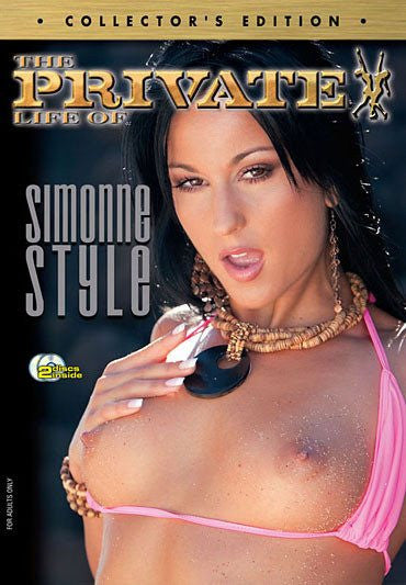 The Private Life of Simone Styles - Private - 2 DVD Set